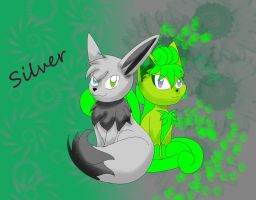 Silver and Ivy by cheshire-cat-tamer
