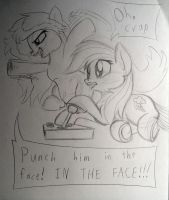 ATG Day 13: In the face! by Zookz25