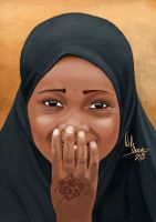 Shy Beauty by LIFE-VOICE