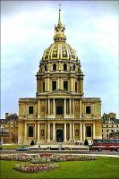Dome des Invalides by haloeffect1