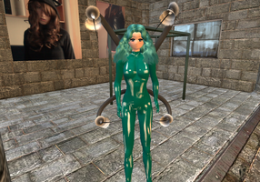 SL - Latex Spider Neptune by Zoe-the-Pink-Ranger