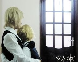 "usuk cos test "" back home "" by hanryukun"