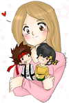 Sano Ryoga and me by AngieSan