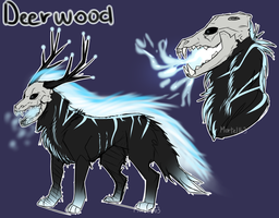 Reference sheet of Deerwood (2014) by Mortel163
