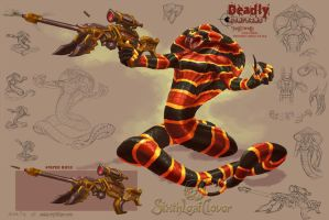 Deadly Strikers: Swift Death by The-SixthLeafClover