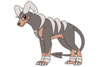 Pokemon Reference-Blaire the Houndoom by Faith-Wolff