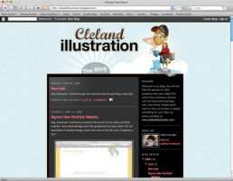 Redesigned blog by clelanjh