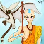 Aang and Momo by Kill-Bloody-Rosesxxx