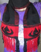 Fire Nation Scarf by ashesonfire