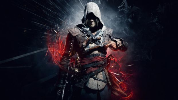 Assassin's Creed IV - Black Flag Wallpaper by TheSyanArt