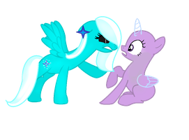 ::Collab:: Try To Steal Him by NatalkaPony