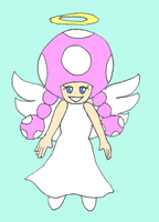 TR 55 - Angel Toadette by Mloun