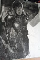 Commander shepard progress by Angelstorm-82