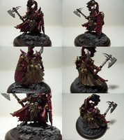 Khorne Chaos Champion by madhouse-exe
