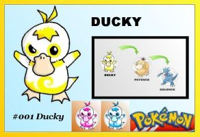 fakemon no 1: ducky by 3MandT