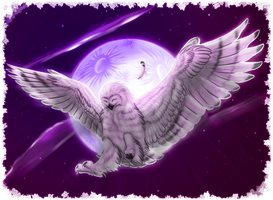 Music makes Ny a happy Owl by Nyctra