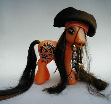 Jack Sparrow Pony by Barkingmadd