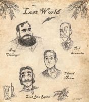 Lost World characters by chill13