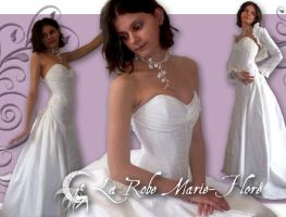 Marie flore's Wedding Dress by michaeljack