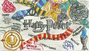 Harry Potter Collage by Stargazer728