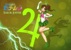 Bishoujo Senshi Sailor Jupiter by MiriArt