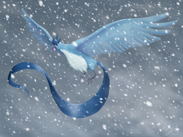 Articuno, lord of the blizzard by raykins