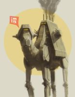 Camel Walker by hyxhoratio