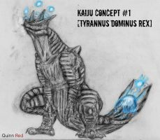 New Kaiju Concept #1 by Quinn-Red