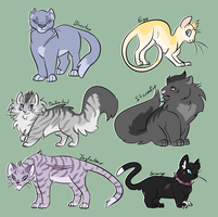 more battle cats by ZooExorcist