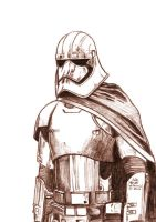 Daily Sketches Captain Phasma by fedde