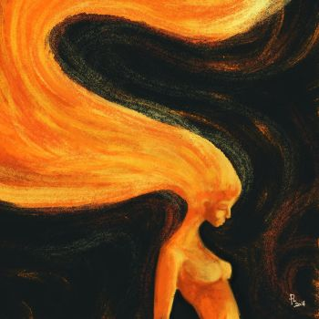 flaming... by paololimoncelli