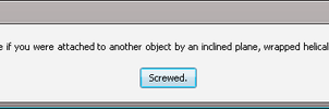 Error Message: Screwed by Addicted-Squared