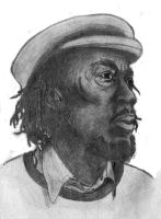 Alton Ellis sketch by Dodeone