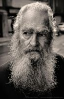 Old man - Bogota by AE-Photo