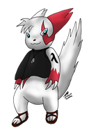 Oliver the Sub-Zangoose by Threehorn