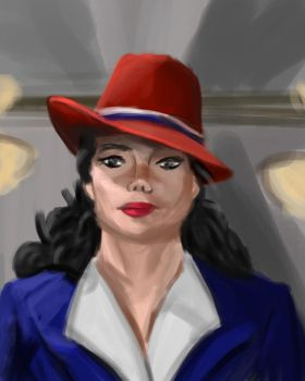Agent Carter by XerafCZ