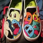 Pokemon starters shoes by DecemberBellz