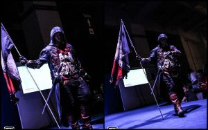 AC Unity - EGX 2014 Cosplay Competition - front by Creed-Cosplay