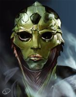 Thane Krios by Ma-rin