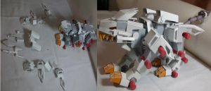Liger Zero papercraft 3 by cat-train