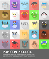 Icon Pop Project by OutLeaf