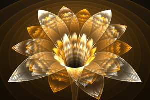 Goldilocks - Fractal Art by CMWVisualArts