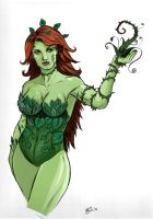 Poison Ivy Colored by irongiant775