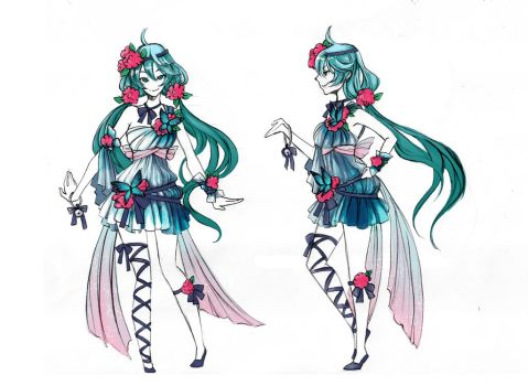 Vocaloid - Design [Butterfly] by Cowslip