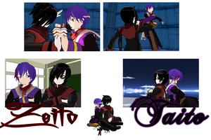 Zeito Relations: Taito by BloodyVocaloid