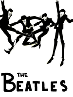 The Beatles - Tegaki by cartoonjunkie