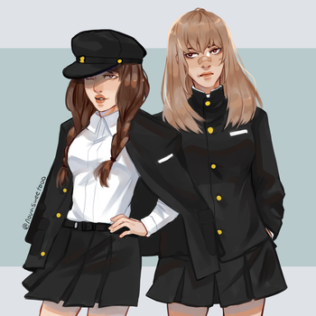 School Uniforms by Novasweet000