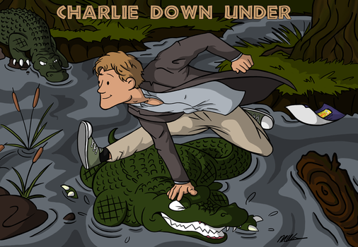 Chedders Down Under by basi1faw1ty
