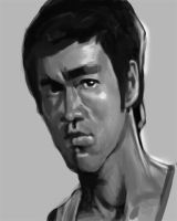 BRUCE LEE by SketchMonster1