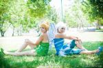 Tinkerbell and Periwinkle by Ryogak